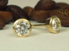 Brillantstecker 750 Gelbgold