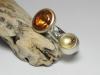 Ring organisch mit Andesin und Brillant