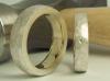 Ringe innen 585 Gelbgold außen Silber
