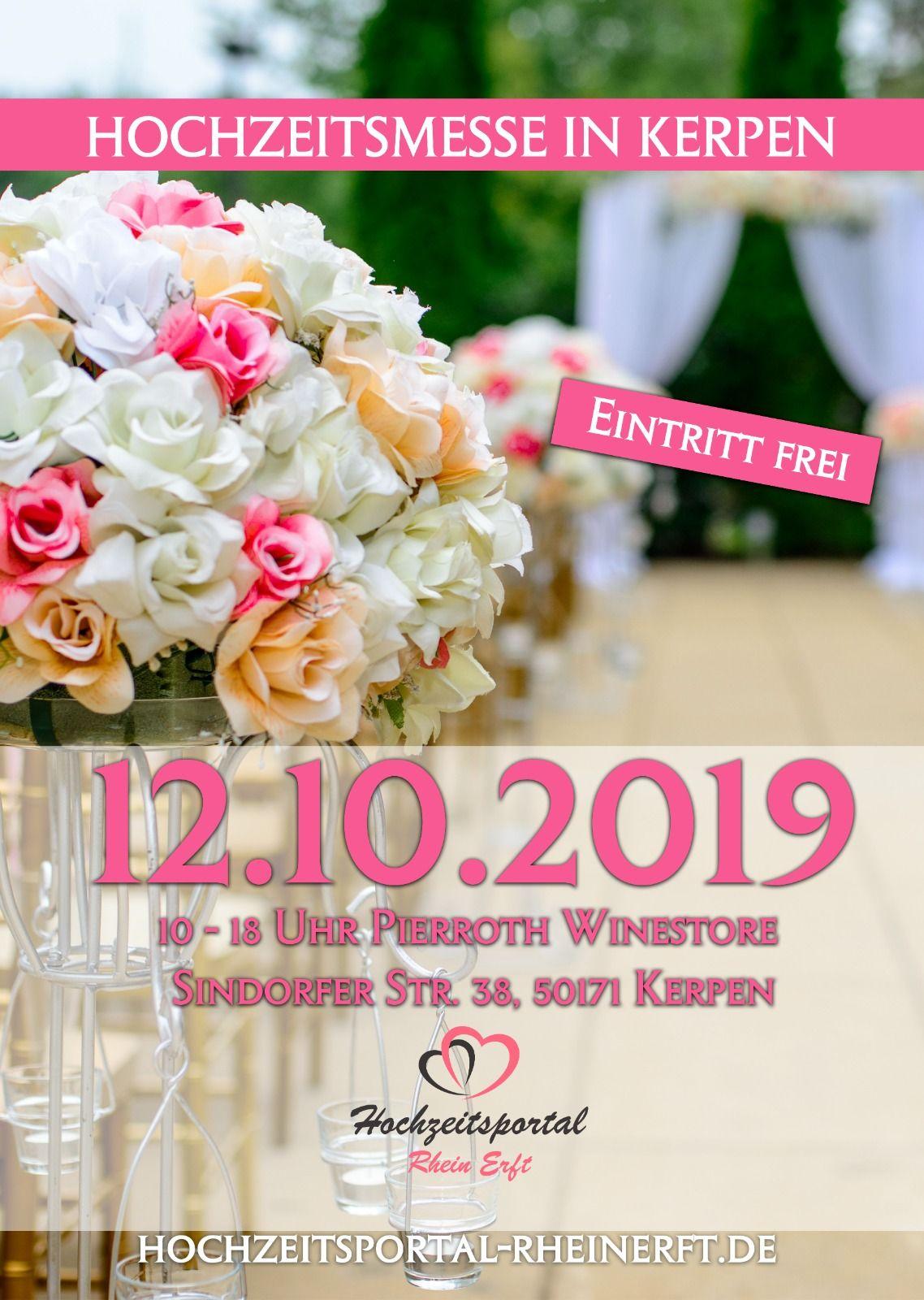 Einladung zur Hochzeitsmesse